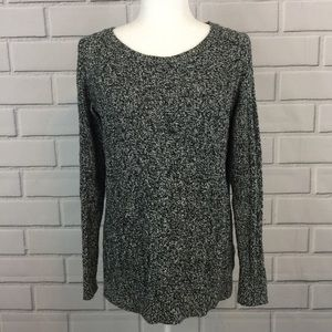 Ann Taylor LOFT Wool Blend Cable Knit Sweater Top